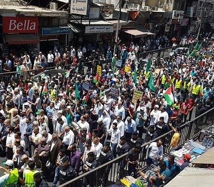 تظاهرات ووقفات احتجاجيّة رفضًا لصفقة القرن في عدد من البلدان العربيّة