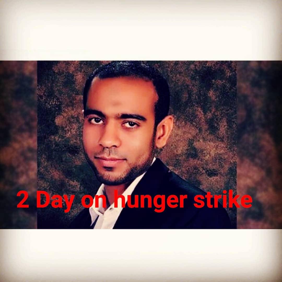 معتقل الرأي «حسين الطويل» يدخل في إضراب عن الطعام بسبب حرمانه من العلاج