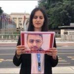 وقفة تضامنيّة في جنيف مع معتقلي الرأي البحرانيّين