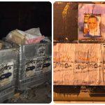 ثوّار النويدرات يعلّقون صور الرموز القادة على جدران البلدة وآل خليفة على حاويات القمامة