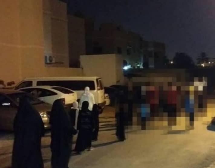 أهالي بلدتي أبو صيبع والشاخورة يتظاهرون تنديدًا بالمداهمات التي تطال منازلهم