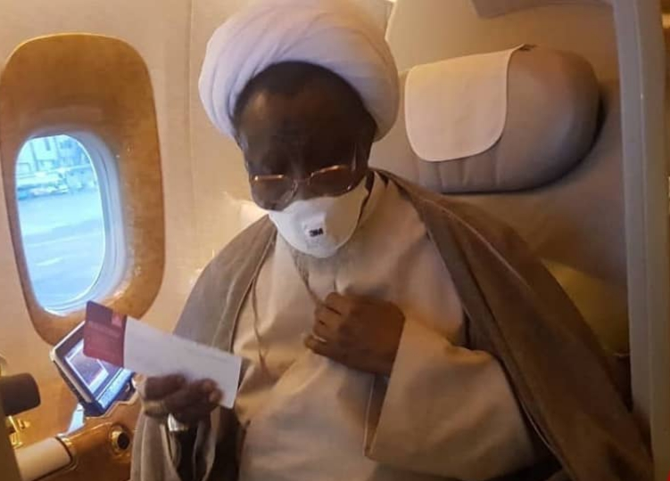 بسبب الضغوط الشيخ الزكزاكي يعود إلى نيجيريا دون أن يتلقى العلاج