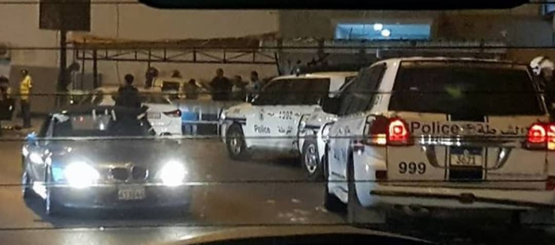Mercenaries of Al-Khalifa attack the manifestations of Ashura in the town of Karzakan