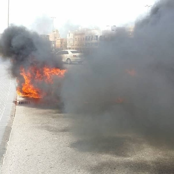 تظاهرة غاضبة فيبلدتي «أبو صيبع والشاخورة»استنكارًا لجريمة إعدام «شهيدَي الفداء»