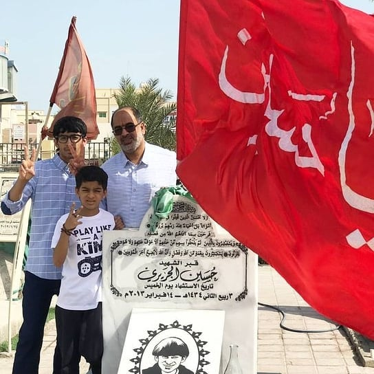 In adherence to their sacrifices, Bahrainis visit Riad Al-Shuhada on Eid Al-Adha
