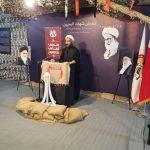 تفاعل واسع مع أقسام «معرض شهداء البحرين» في يومه الرابع