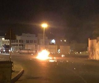 نزول ثوريّ غرب العاصمة المنامة