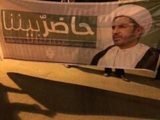 تظاهرة غرب المنامة تضامنًا مع الشيخ علي سلمان