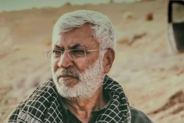 جثمان الشهيد القائد «أبو مهدي المهندس» يوارى الثرى في مقبرة السلام