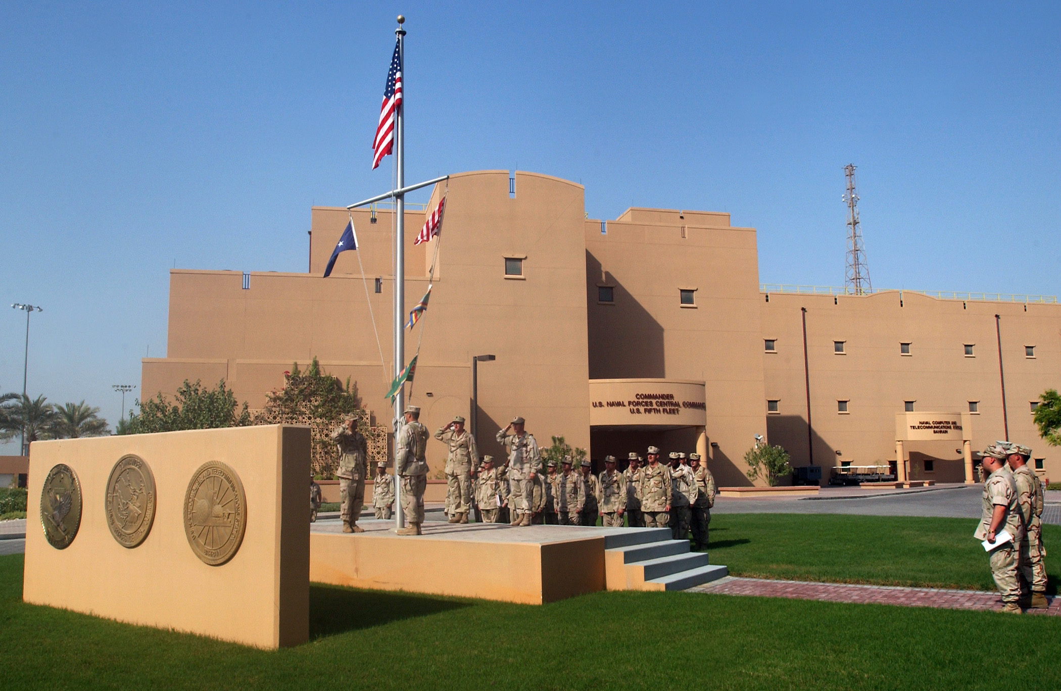 رفض شعبيّ بحرانيّ للوجود العسكري الأمريكي في البلاد