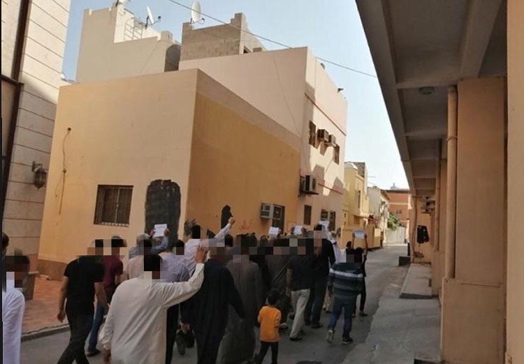 شعب البحرين يندّد بالجريمة الأمريكيّة بحقّ «سليماني والمهندس»
