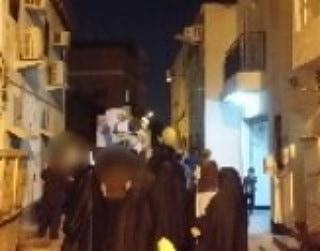 تظاهرة غرب المنامة استمرارًا بالحراك الثوريّ