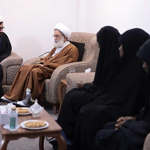 الفقيه القائد قاسميلتقيعائلة الشيخ المجاهد زكزاكي