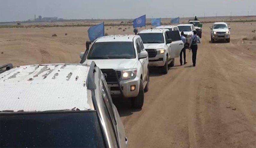 مرتزقة العدوان السعودي تخرق اتفاق السويد وتمنع بعثة الأمم المتحدة من الدخول إلى الحديدة