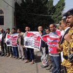 ناشطون يمنيّون يتضامنون مع الشعب البحرانيّ في الذكرى التاسعة لثورته