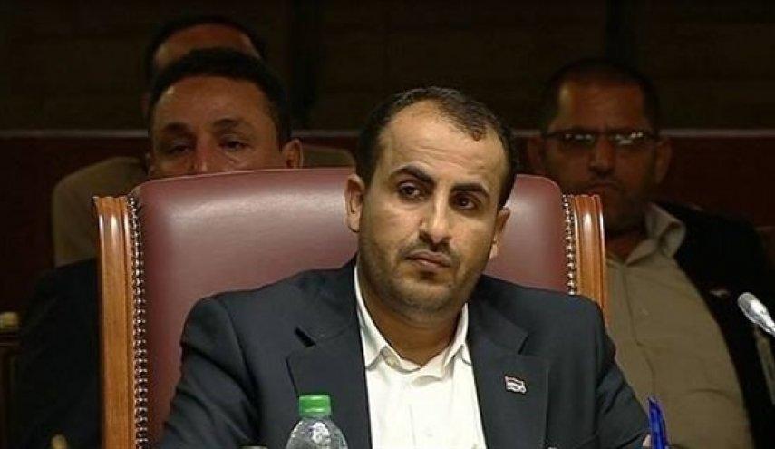 الوفد اليمني المفاوض: العدوان السعودي يسعى للبحث عن مخرج له من ورطته في اليمن