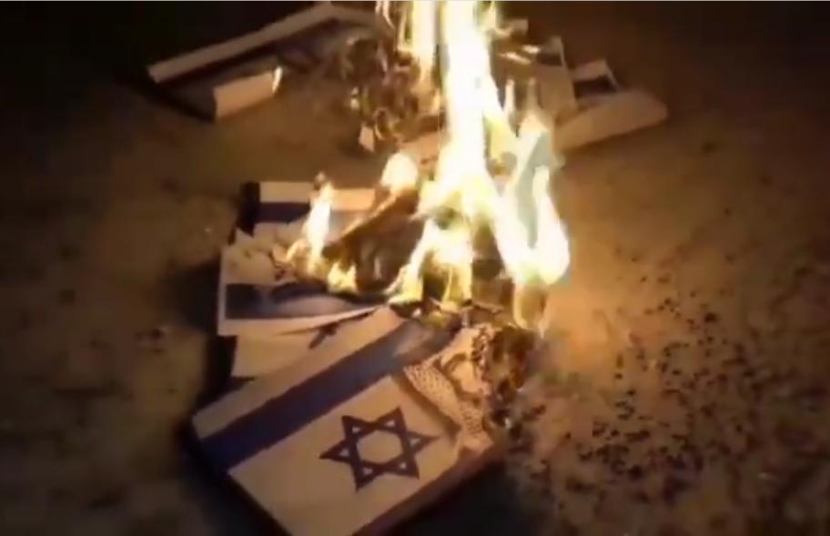 حراك ثوريّ تمسكًا بحقّ تقرير المصير والقضيّة الفلسطينيّة