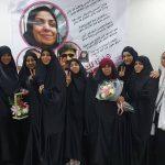 عوائل الشهداء ومعتقلات سابقات يزورون الحرّة «هاجر منصور»