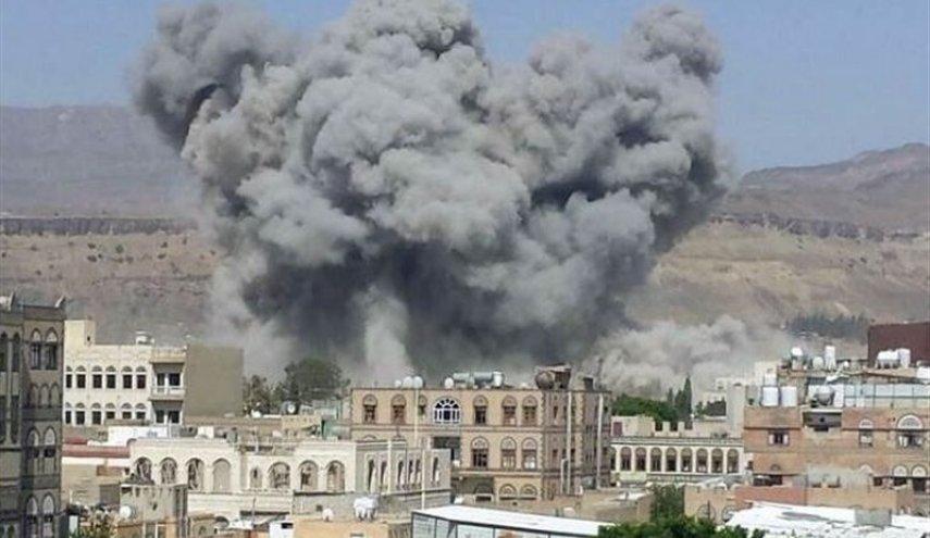 العدوان السعودي يواصل شن غاراته على اليمن ويمنع وصول المساعدات