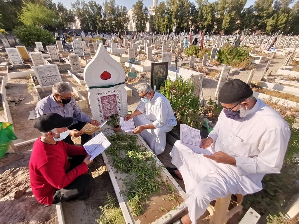 زيارة روضة شيخ الشهداء «علي النكاس» في ذكراه السنويّة