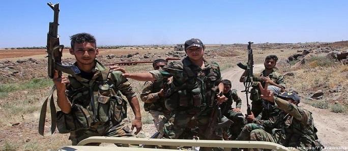 الجيش السوري يحبط هجومًا لداعش في البادية وقسد تختطف الإهالي بدعم اميركي