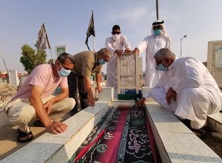 زيارة أضرحة الشهداء صبيحة عيد الأضحى