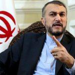 عبد اللهيان: تأييد حكم الإعدام يؤكّد عمق الفجوة بين آل خليفة والشعب البحرينيّ