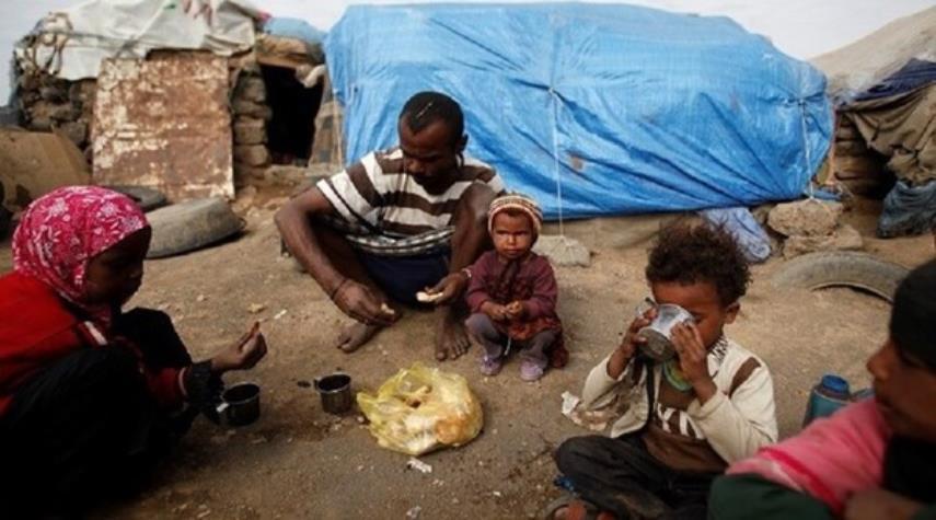 الأمم المتحدة: نصف سكّان اليمن يواجهون مجاعة بسبب العدوان السعوديّ- الأمريكي