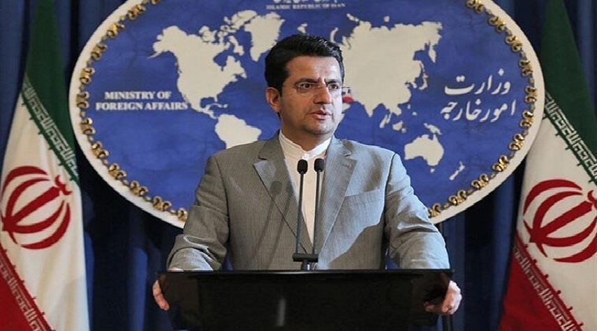 الخارجية الإيرانية: أمريكا تحاول زعزعة الأمن الداخلي بدعمها خلايا إرهابية