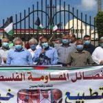 فصائل المقاومة الفلسطينية تدعو الزعماء العرب والمسلمين إلى إعلاء الصوت رفضًا للتطبيع