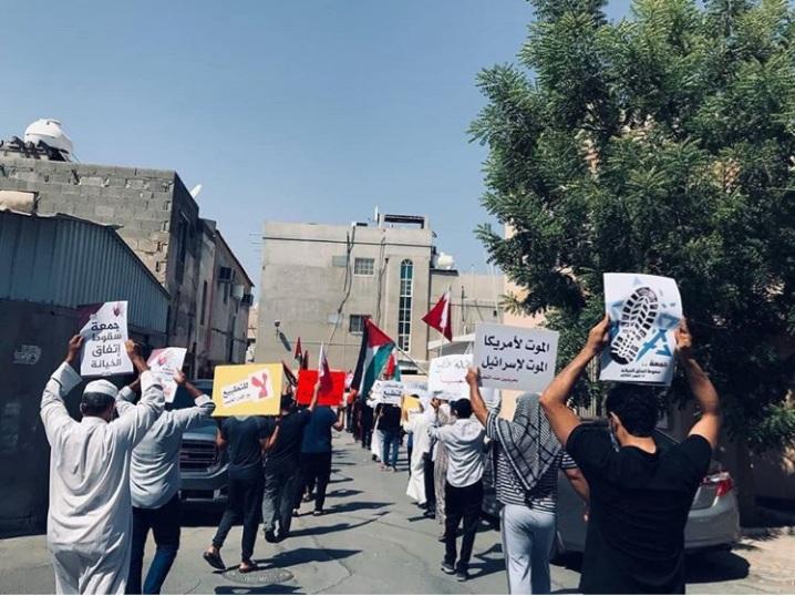 تظاهرات وحرق العلم الصهيونيّ في فعاليّات «جمعة سقوط اتفاق الخيانة»