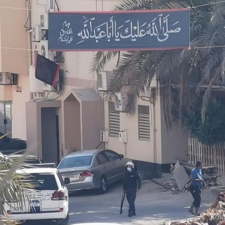 استنفار غرب المنامة بعد خطّ الجدران بالعبارات الثوريّة