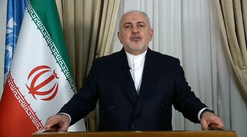 ظريف: على المجتمع الدولي إرغام الكيان الصهيوني على تدمير ترسانته النوويّة