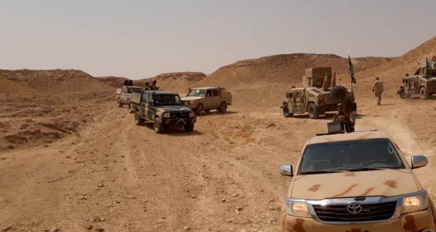 """الحشد الشعبي يبدأ عمليات تطهير شمال """"صلاح الدين"""" من فلول داعش"""