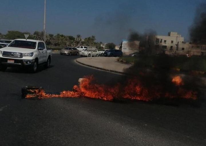 الحراك المناهض للتطبيع يتواصل في مناطق البحرين