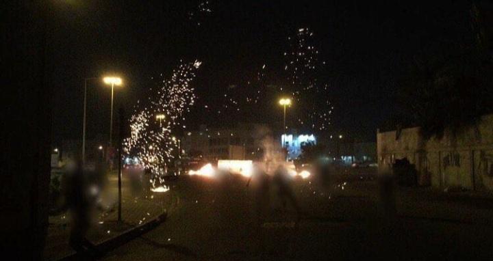 حراك ثوريّ غرب المنامة