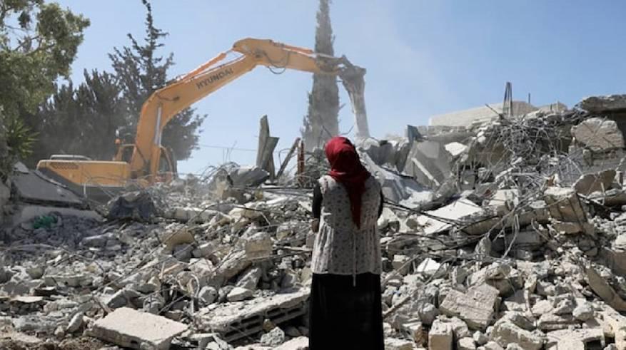 استمرار الصهاينة بهدم منازل الفلسطينيّين رغم دعوات أمميّة إلى وقف الاستيطان