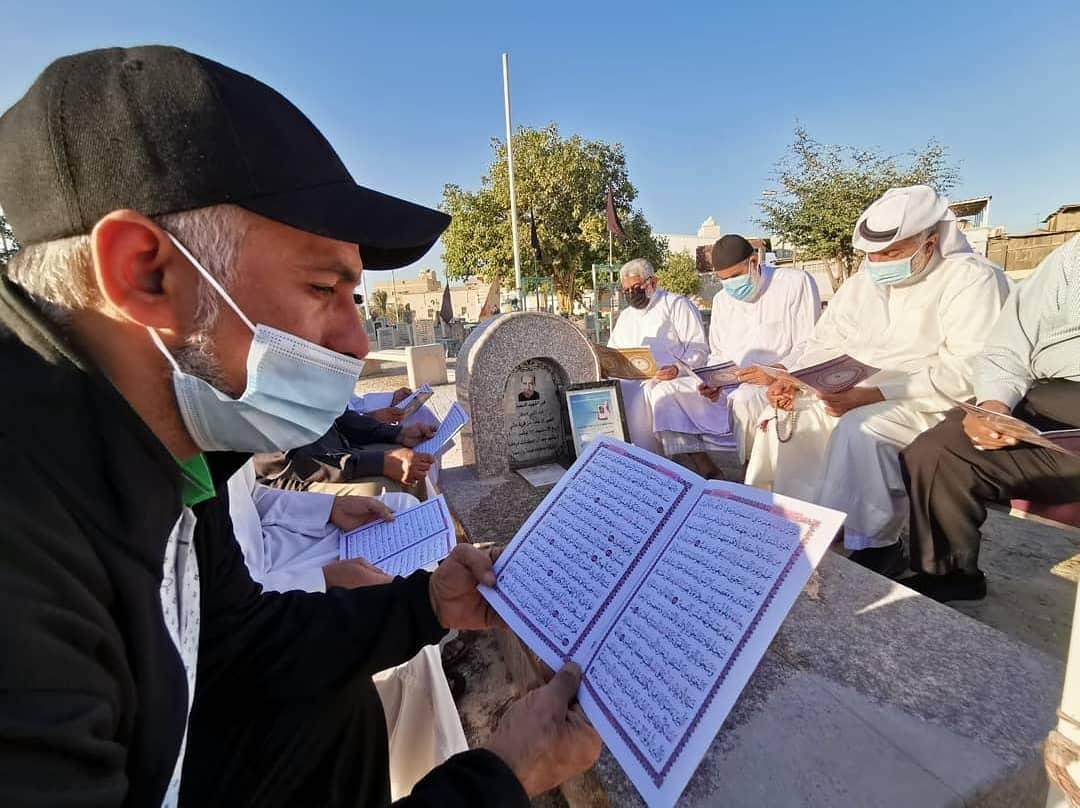 زيارة روضة الشهيد «عبد النبي كاظم العاقل» في ذكراه السنويّة