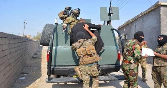 الحشد الشعبيّ والقوات الأمنيّة تواصل ملاحقة فلول داعش في المحافظات المحررة