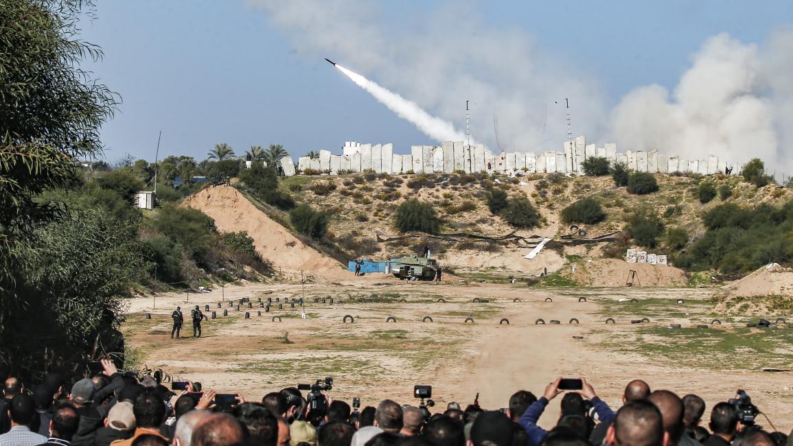 فصائل المقاومة الفلسطينيّة تجري مناورة«الركن الشديد«وتؤكّد أنّ المطبّعين سيذهبون إلى مزابل التاريخ