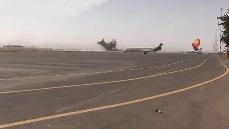 فشل وتخبط .. استمرار العدوان السعوديّ بقصف المنشآت الحيويّة في صنعاء