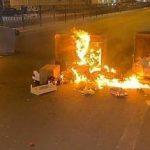 حراك غاضب في بلدة طشان