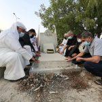 زيارة روضة الشهيد«باسل القطان» في ذكراه السنويّة