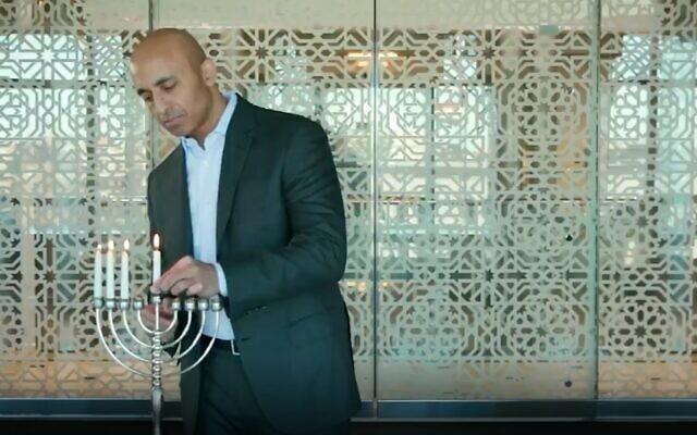 مطبّعون خليجيّون يشاركون في احتفالات «عيد حانوكا» اليهوديّ