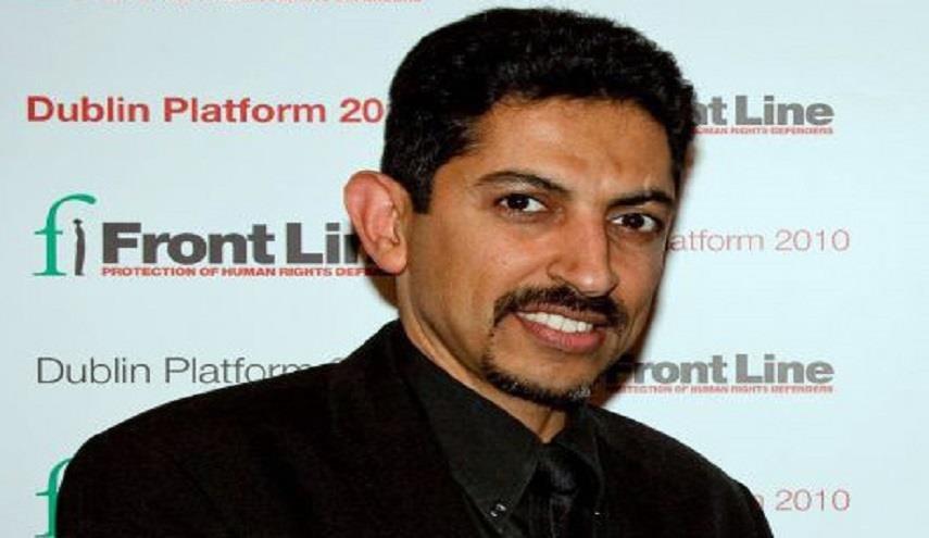 منظّمة حقوقيّة تطالب بالإفراج عن الحقوقيّ المعتقل «عبد الهادي الخواجة»