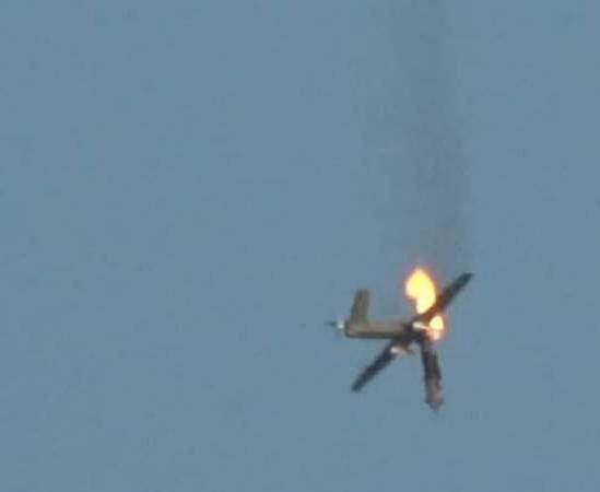 هزيمة جديدة للطيران السعودي بعد إسقاط اليمنيين طائرة تجسس متطورة