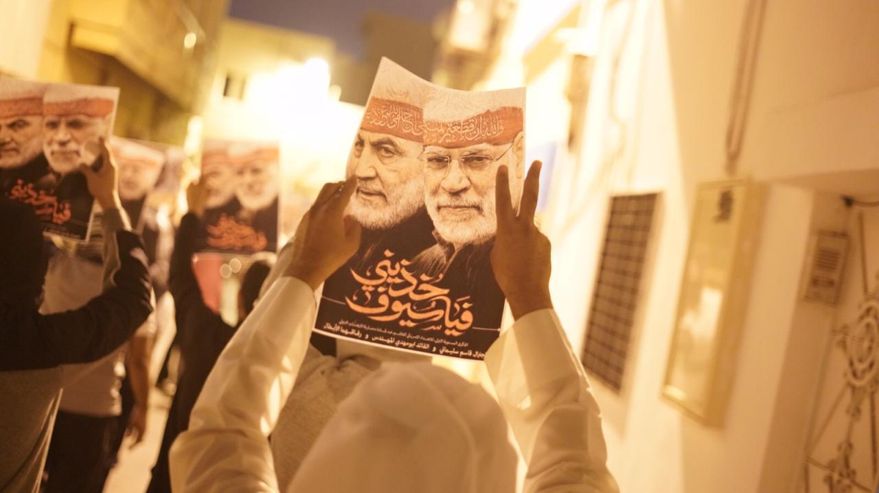 تظاهرة غاضبة في البحرين إحياء لذكرى الشهداء القادة