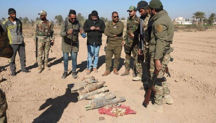 الحشد الشعبي يواصل تطهير المناطق المحررة من داعش ويرفع عشرات الألغام والمتفجرات