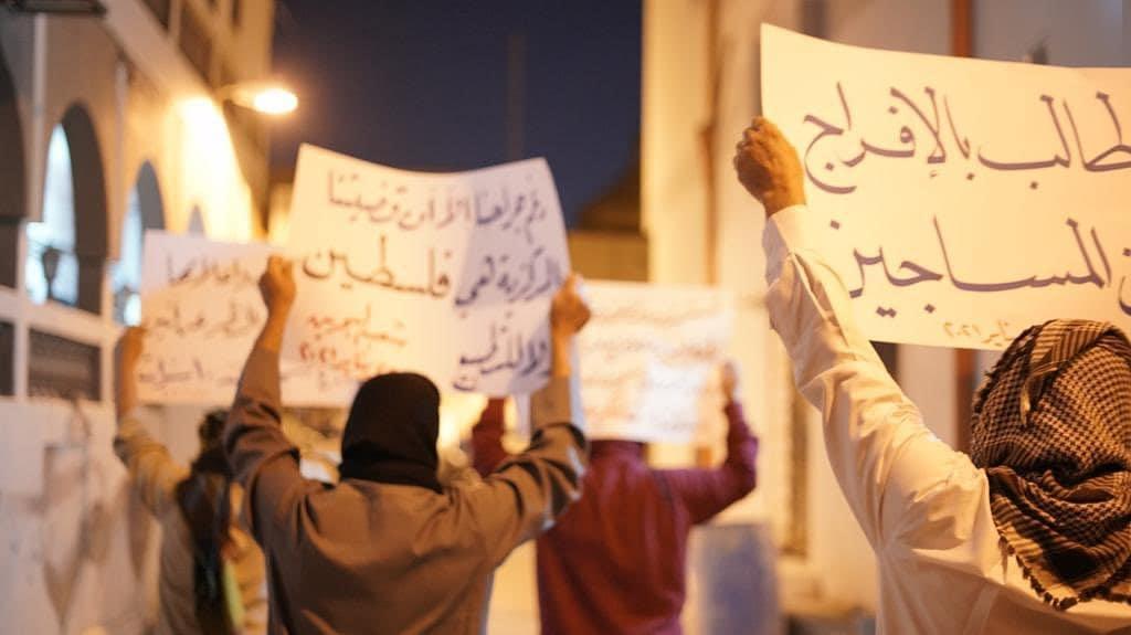 تظاهرة ثوريّة تضامنًا مع الشيخ زهير عاشور والمعتقلين