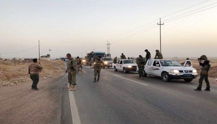 الحشد الشعبي يواصل ملاحقة فلول داعش في ديالى وشمالي بابل